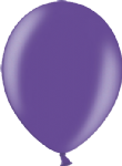 "12"" Metallic Purple Latex Balloon"